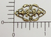 (Pkg. Of 12) Filigree (Brass Ox.)