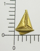 (Package Of 12) Small Sailboat NR (Brass Ox)