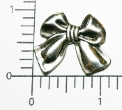 (Package of 12) Sm. Bow NR (Matte Silver)