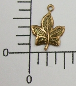 (Package of 12) Sm. Maple Leaf Charm (Copper Ox)