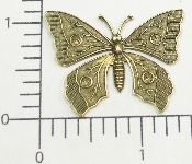 "(Package Of 12) 1-1/2"" Butterfly (Brass Ox)"