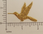 (Package Of 12) Large Hummingbird N/R (Brass Ox)