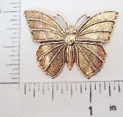 "(Package Of 12) 1-1/2"" Butterfly N/R (Brass Ox)"