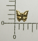 "(Package Of 12) 1/4"" Butterfly NR (Antique Gold)"