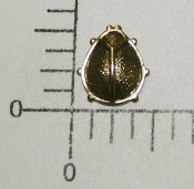 "(Package Of 12) 1/2"" Ladybug N/R (Antique Gold)"