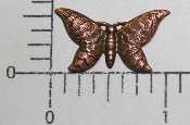 "1"" x 1/2"" Butterfly N/R (Copper Ox) (Package Of 12)"