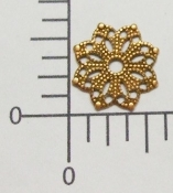 "(Package Of 12) 5/8"" Round Filigree (Copper Ox)"