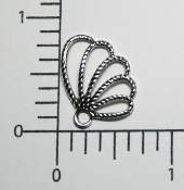 Angel Wing (Matte Silver Ox) (Package of 12)