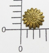 (Package of 12) Small Daisy NR (Brass Ox)