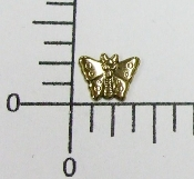 (Package Of 12) Tiny Butterfly - NR (Antique Gold)