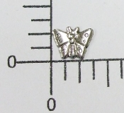 (Package Of 12) Tiny Butterfly - NR (Matte Silver)