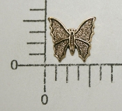 (Package Of 12) Small Butterfly NR (Antique Gold)
