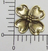 "(Package Of 12) 1"" Dogwood NR Brass Ox"