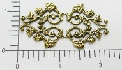 Ornate Victorian Filigree Brass Ox (Package Of 12)