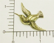 36063 - (Package Of 12)   Hummingbird N/R   (Brass Ox)